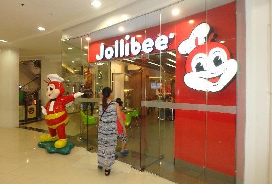 フィリピンのファストフードJollibee(ジョリビー)