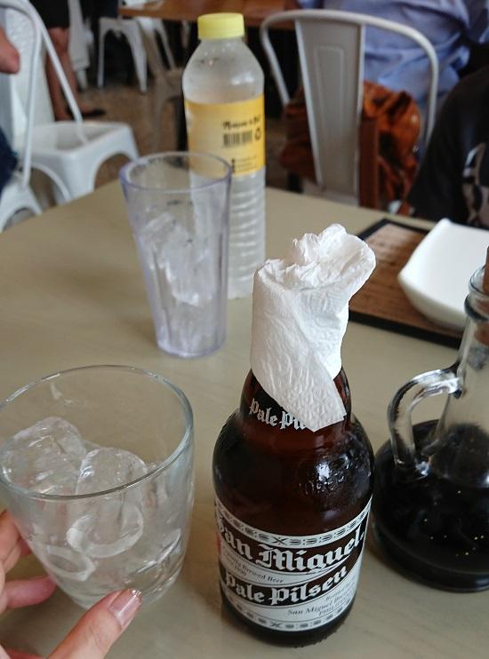 GoldenCowrie(ゴールデンカウリー)セブの水とビール