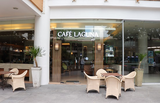 Cafe Laguna(カフェラグーナ)セブの外観