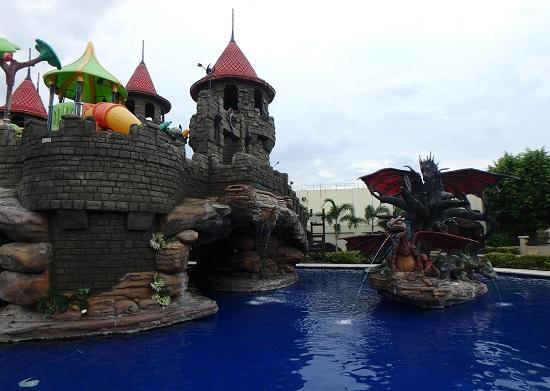 セブ ウェスタンラグーン(Cebu Westown Lagoon)のドラゴンプール