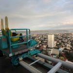 ビルの上にある恐怖の遊園地「スカイエクスペリエンスアドベンチャー」セブ(フィリピン)