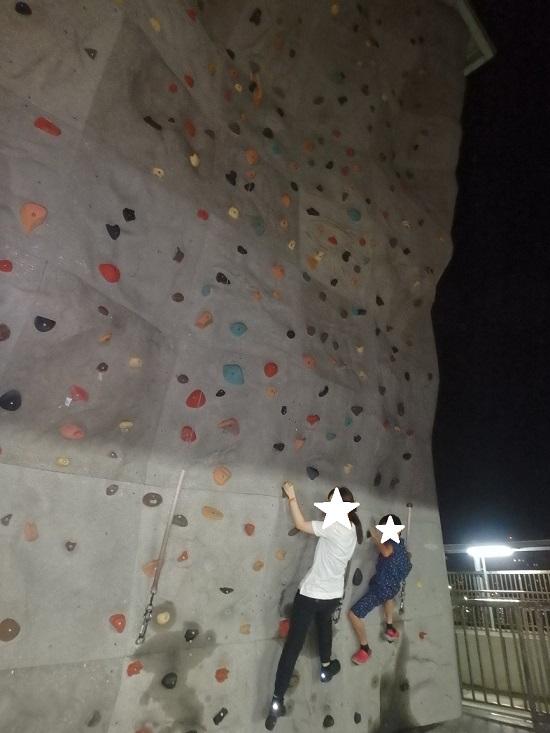 スカイエクスペリエンスアドベンチャー(sky experience adventure)のクライミングウォール(ロッククライミング)Paramount Climbing Wall