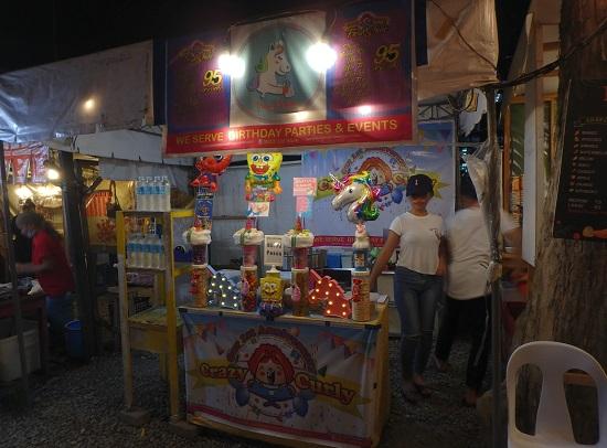 Sugbo Mercadoスグボメルカド(スボマカド)の綿菓子屋台