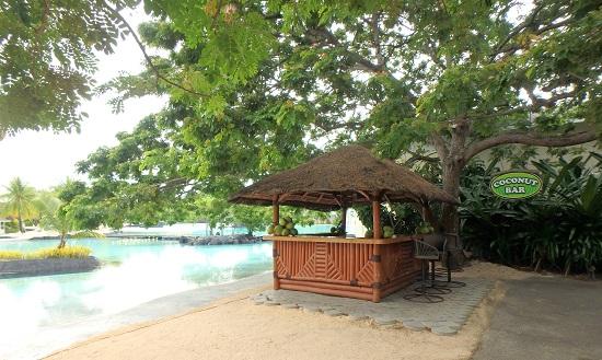 Plantation Bay Resort And Spaプランテーションベイリゾートホテルのプール横のバー