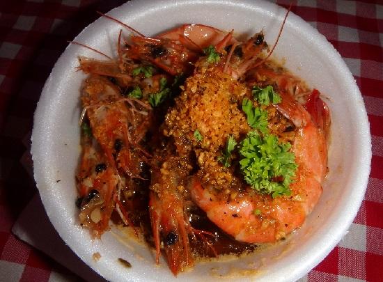 Sugbo Mercadoスグボメルカド(スボマカド)のガーリックシュリンプ(garlic shrimp)