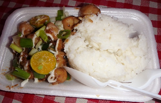 Sugbo Mercadoスグボメルカド(スボマカド)のシーフードシシグ(seafood sinig)