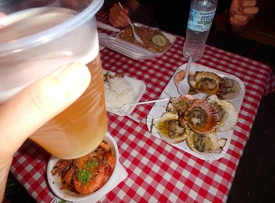 Sugbo Mercadoスグボメルカド(スボマカド)の屋台料理