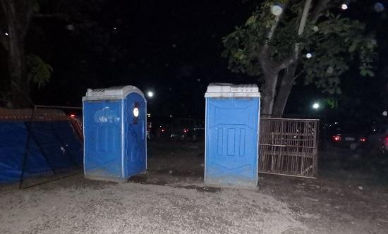 Sugbo Mercadoスグボメルカド(スボマカド)の仮設トイレ