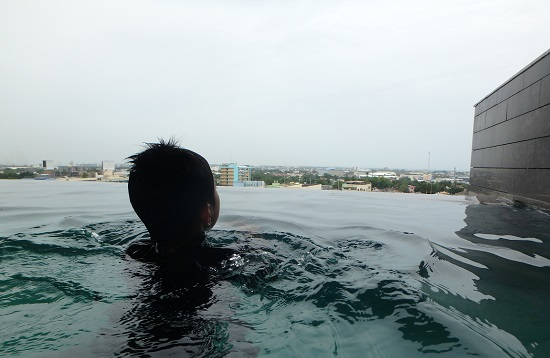 スカイウォーターパークセブ(SkyWaterpark Cebu)のインフィニティプール
