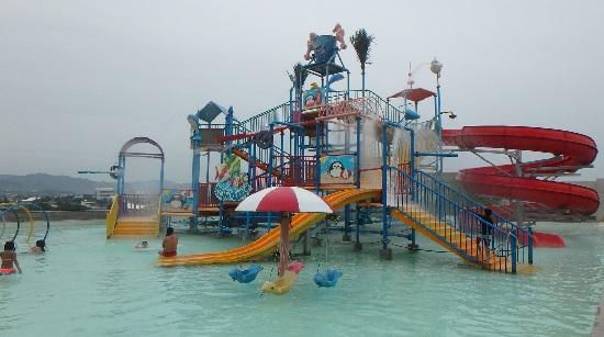 スカイウォーターパークセブ(Skyawaterpark cebu)のプール