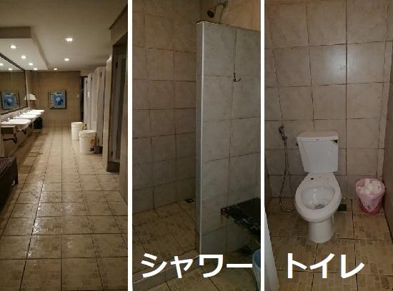 セブ ウェスタンラグーン(Cebu Westown Lagoon)のシャワーとトイレ