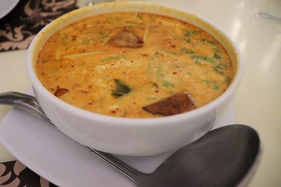 SIAM Thai Cuisine(サイアム)セブのTom Yum Seafood Soup(トムヤムクンシーフード)