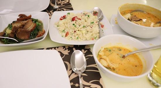 SIAM Thai Cuisine(サイアム)セブの料理