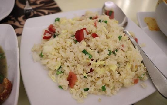 SIAM Thai Cuisine(サイアム)セブのGood Old Thai Fried rice(炒飯)