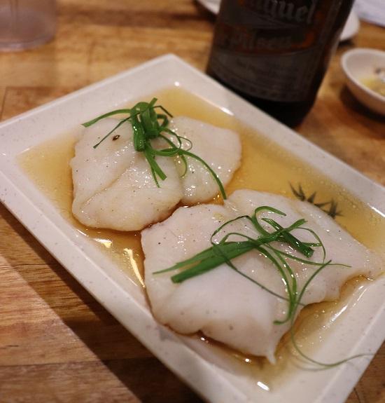 HARBOUR CITY(ハーバーシティ)の蒸し白身魚 STEAMED FISH