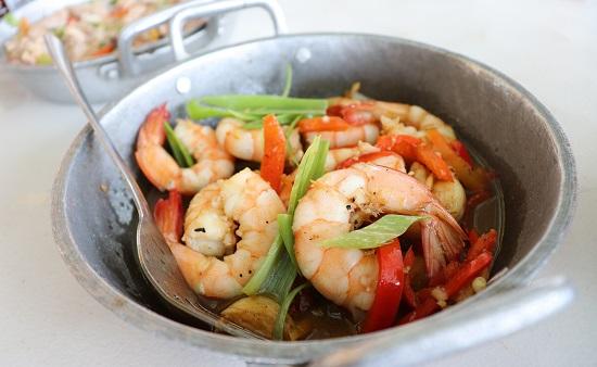 KKD STK+BBQ(セブ)のGarlic Butr Shrimp(ガーリックバターシュリンプ)