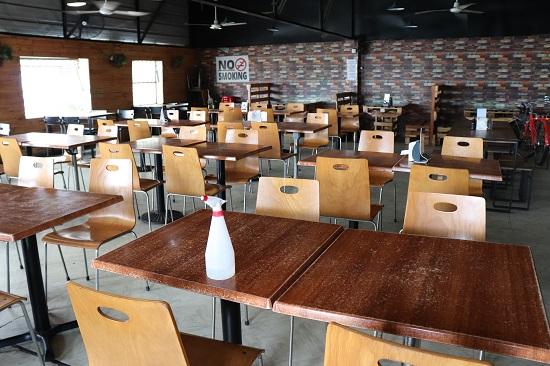 KKD STK+BBQ(セブ)の店内・2階席