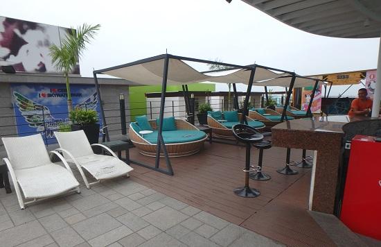 スカイウォーターパークセブ(SkyWaterpark Cebu)のカバナ(有料チェア)