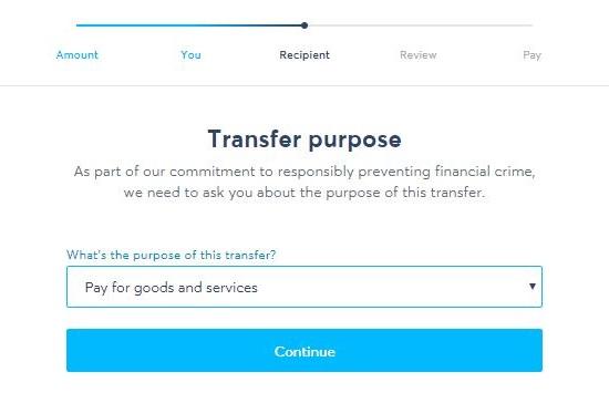 TransferWise(トランスファーワイズ)アンケート