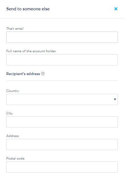 TransferWise(トランスファーワイズ)相手の個人情報