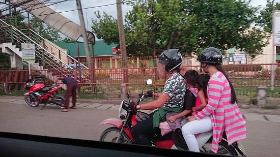 セブ島のバイクタクシー