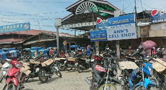 セブ島のバイクタクシー(ハバルハバル)とトライシカル
