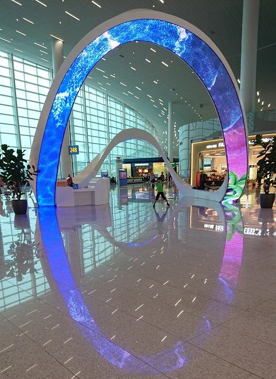 仁川空港(インチョン空港)第2ターミナル通路