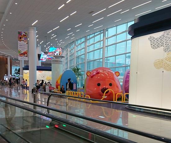 仁川空港(インチョン空港)第2ターミナルキッズスペース