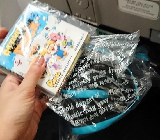 大韓航空(Korean Air)子ども用ヘッドフォン