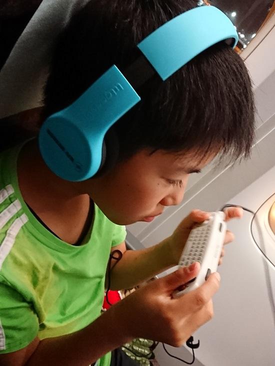 大韓航空(Korean Air)機内子供用ヘッドフォン