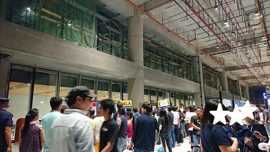 マクタン・セブ国際空港到着エリア