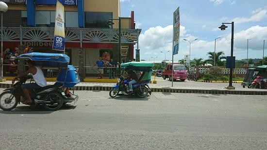 セブ島のバイクタクシー(トライシカル)トゥクトゥク
