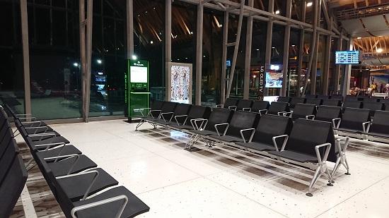 マクタン・セブ国際空港搭乗口付近