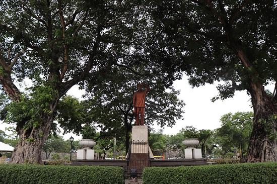 サンペドロ要塞(Fort San Pedro)銅像