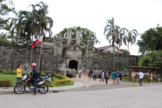 サンペドロ要塞(Fort San Pedro)入口