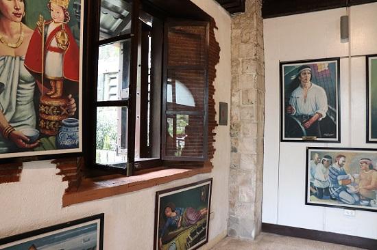 サンペドロ要塞(Fort San Pedro)博物館内部