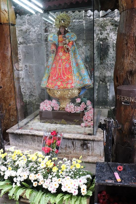 サンペドロ要塞(Fort San Pedro)saint像