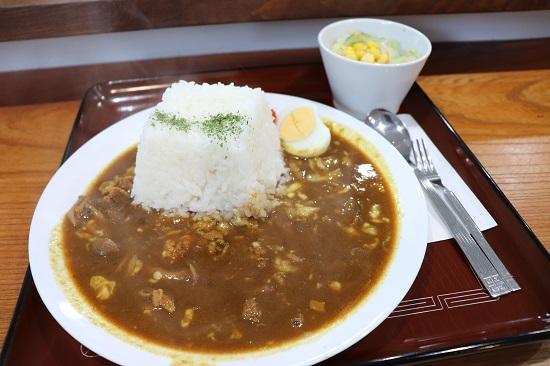 Cafe Kakuzan(カフェかくざん)のお城山カレー