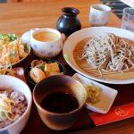 蕎麦(日本そば)とたっぷりお野菜おかず「あかりあん」勝央町