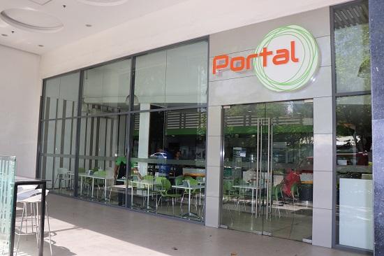 セブ(2Quad Building)のお弁当屋さんPortal(ポータル)の入口