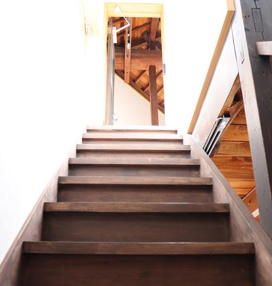 Ziba Platformの階段