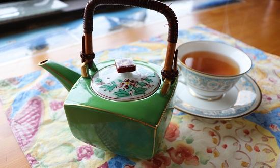 Cafe蔵(奈義町)の紅茶