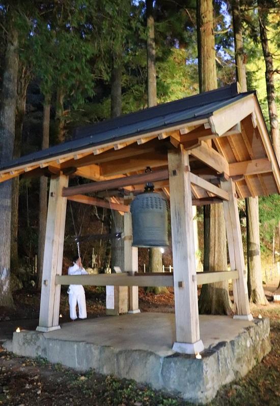 奈義町「菩提寺」の鐘