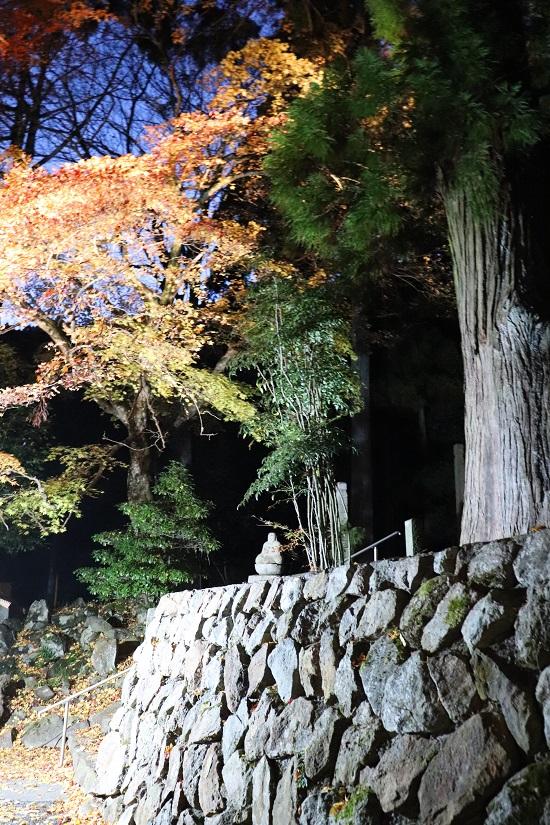 奈義町「菩提寺」の石垣