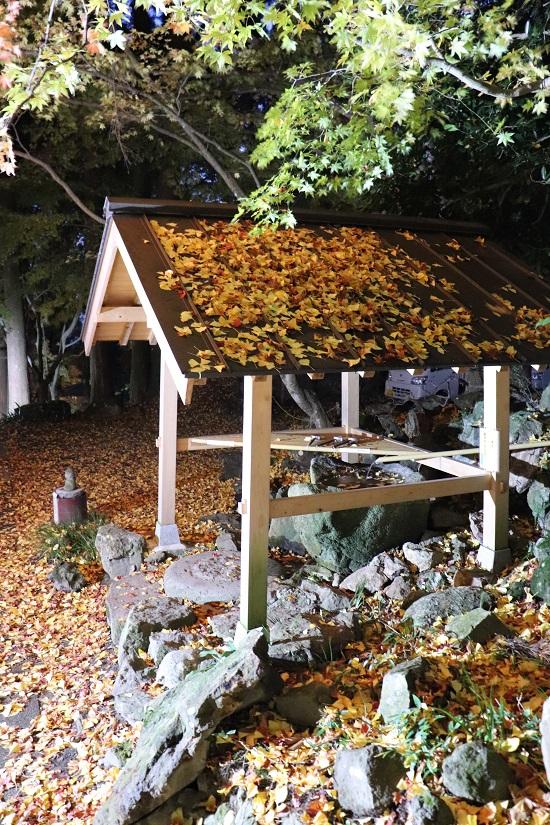 奈義町「菩提寺」の手水舎