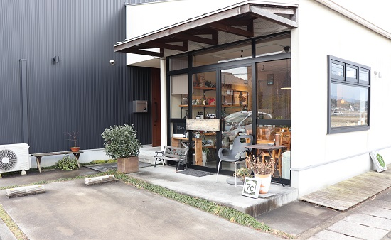 7Cカフェ(津山市)の外観