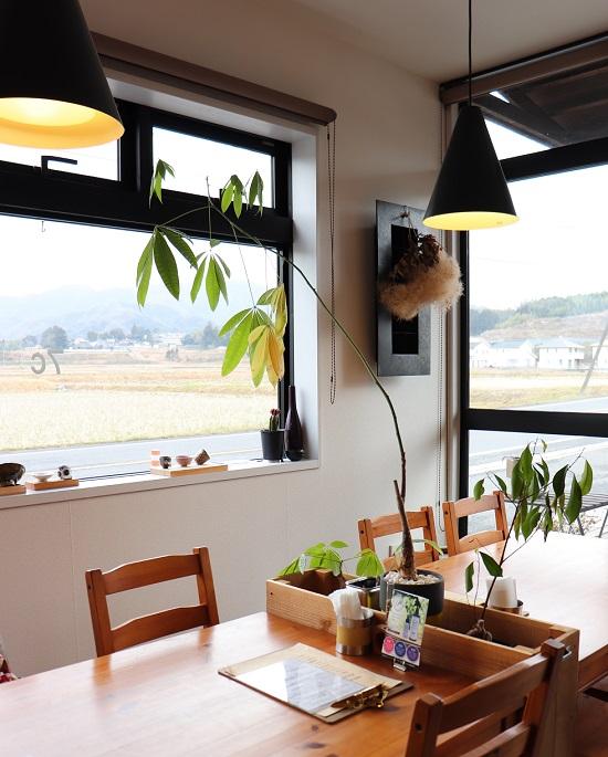 7Cカフェ(津山市)の店内