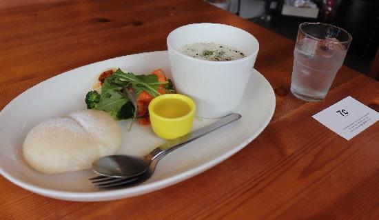 7Cカフェ(津山市)のモーニングランチ