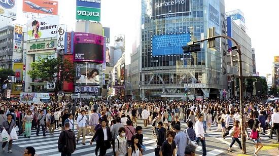 都会の雑踏(JAPAN・日本)