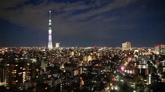東京スカイツリー(夜景)
